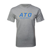 Grey T Shirt-ATO Love and Repect
