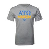 Grey T Shirt-ATO Nation