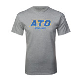 Grey T Shirt-ATO For Liffe