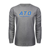 Grey Long Sleeve T Shirt-ATO Love and Repect