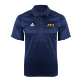 Adidas Climalite Navy Jaquard Select Polo-ATO Greek Letters