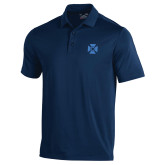 Under Armour Navy Performance Polo-Cross