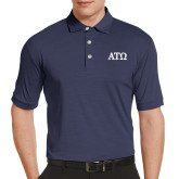 Callaway Tonal Navy Polo-ATO Greek Letters
