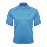 Carolina Blue Dri Mesh Pro Polo-Coat of Arms