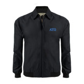 Black Players Jacket-ATO Greek Letters