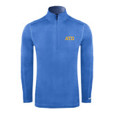 Nike Sphere Dry 1/4 Zip Light Blue Cover Up-ATO Greek Letters