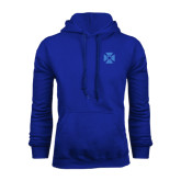 Royal Fleece Hoodie-Cross