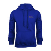 Royal Fleece Hoodie-ATO Greek Letters