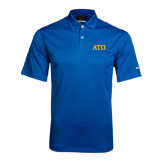 Nike Dri Fit Royal Pebble Texture Sport Shirt-ATO Greek Letters