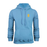 Light Blue Fleece Hoodie-ATO Interlocking