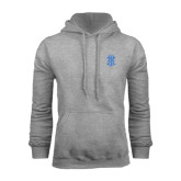Grey Fleece Hoodie-ATO Interlocking
