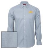Red House Light Blue Diamond Dobby Long Sleeve Shirt-ATO Greek Letters