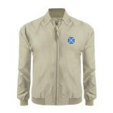Khaki Players Jacket-Cross