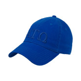 Royal Twill Unstructured Low Profile Hat-ATO Greek Letters