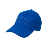Royal Heavyweight Twill Pro Style Hat-ATO Greek Letters