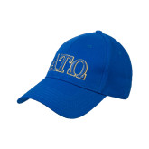 Royal Heavyweight Twill Pro Style Hat-ATO 2 Color Greek Letters