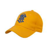 Gold Heavyweight Twill Pro Style Hat-ATO Interlocking