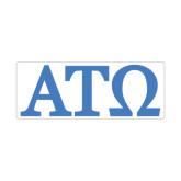 Medium Magnet-ATO Greek Letters, 8in W