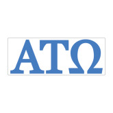 Large Magnet-ATO Greek Letters, 12in W