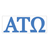 Extra Large Magnet-ATO Greek Letters, 18in W