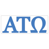 Super Large Magnet-ATO Greek Letters, 24in W