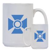 Full Color White Mug 15oz-Cross