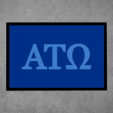 Full Color Indoor Floor Mat-ATO Greek Letters
