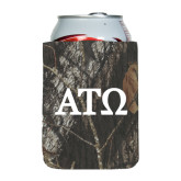 Collapsible Mossy Oak Camo Can Holder-ATO Greek Letters