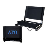 Stadium Chair Black-ATO Greek Letters