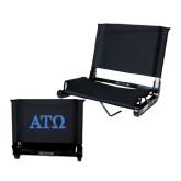 Stadium Chair Black-ATO Greek Letters