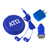 3 in 1 Royal Audio Travel Kit-ATO Greek Letters