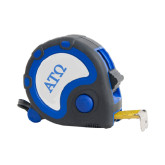 Frontier Locking Blue 25 Ft. Tape Measure-ATO Greek Letters