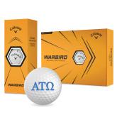 Callaway Warbird Golf Balls 12/pkg-ATO Greek Letters