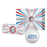 Callaway Supersoft Golf Balls 12/pkg-ATO Greek Letters