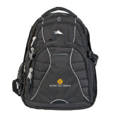 High Sierra Swerve Compu Backpack-Official Logo