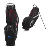 Callaway Hyper Lite 5 Black Stand Bag-ATO Greek Letters