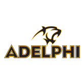 Medium Decal-Adelphi with Panther Head, 8 inches wide