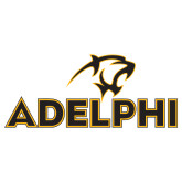 Large Decal-Adelphi with Panther Head, 12 inches wide