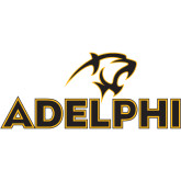 Extra Large Decal-Adelphi with Panther Head, 18 inches wide