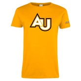 Ladies Gold T Shirt-AU