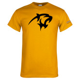 Gold T Shirt-Panther Head