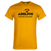 Gold T Shirt-Cheerleading