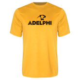 Performance Gold Tee-Adelphi with Panther Head