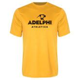 Performance Gold Tee-Athletics
