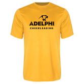 Performance Gold Tee-Cheerleading