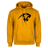 Gold Fleece Hoodie-Panther Head