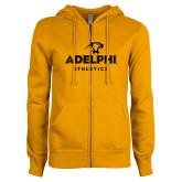 ENZA Ladies Gold Fleece Full Zip Hoodie-Athletics