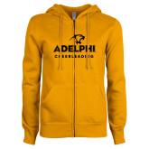ENZA Ladies Gold Fleece Full Zip Hoodie-Cheerleading