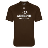 Under Armour Brown Tech Tee-Athletics