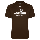 Under Armour Brown Tech Tee-Bowling